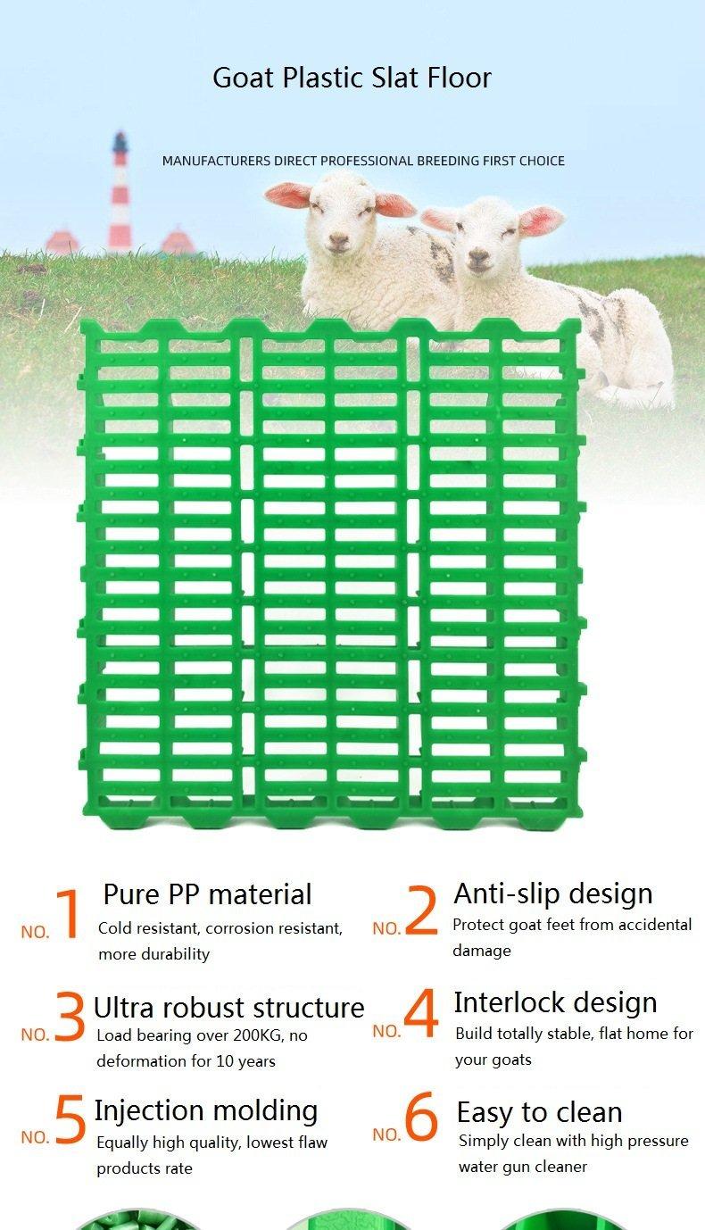 goat plastic slat floor