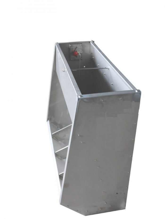 stainles steel finish feeder
