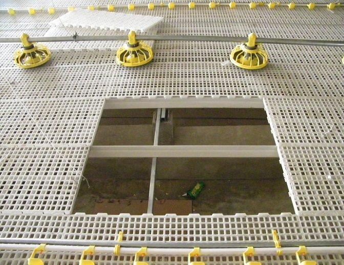 poultry plastic slat flooring